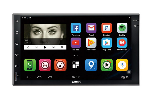 ATOTO 7inch Android In-Car Entertainment M4272