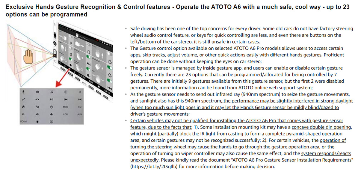 NEW] ATOTO A6 2DIN Android Car Navigation Stereo with Dual Bluetooth