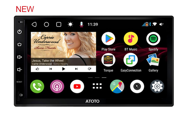 ATOTO S8 Android Car in-Dash Navigation Stereo System,S8 Premium S8G2B73M,Powerful Soc,Dual BT w/aptX codec,Phone Integration Li