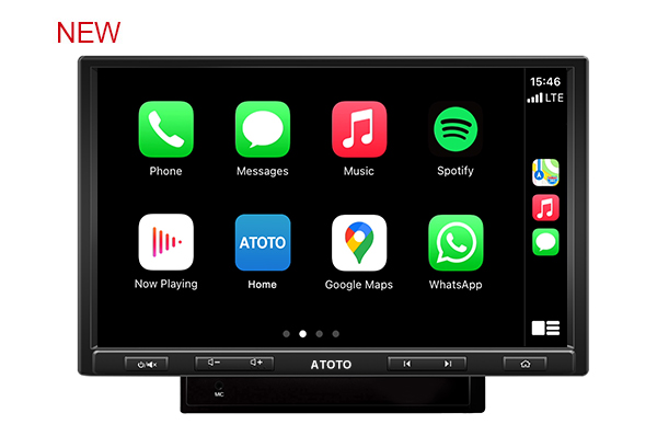 ATOTO F7 PE in-Dash Video Receiver - CarPlay & Android Auto Receiver with Bluetooth, Phone Mirroring (Auto Link),Phone Charge,US